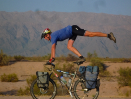 bordom after miles in the desert!